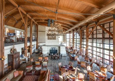 The Residences at Rough Creek Lodge Dining Room