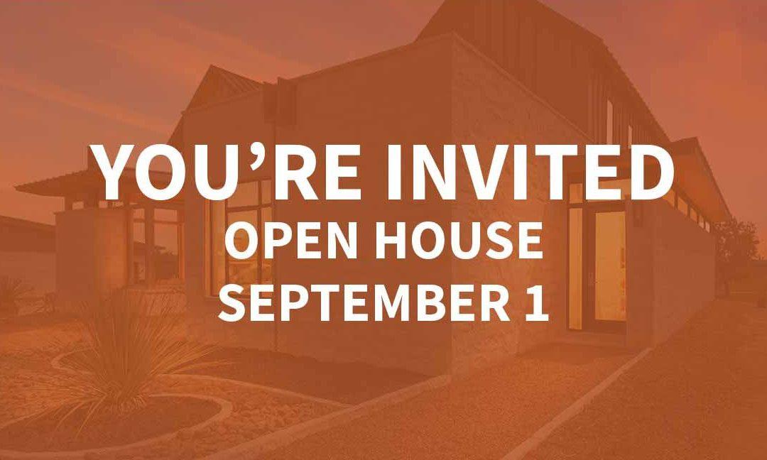 Open House | September 1