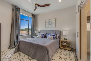 The Residences at Rough Creek Lodge Bedroom Model Home