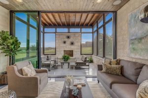 The Residences at Rough Creek Lodge Screened Porch The Lynn Featured Residence