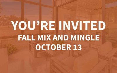 Fall Mix and Mingle | October 13