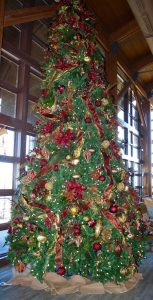 Rough Creek Lodge Dining Room Tree