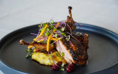 Recipe: Chef Gerard Thompson's Grilled Quail