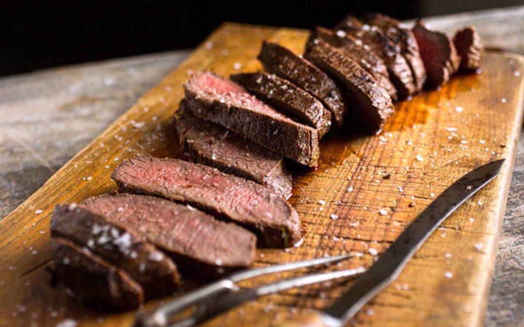 Recipe: Roast Venison Steak with Fall Vegetable Ratatouille